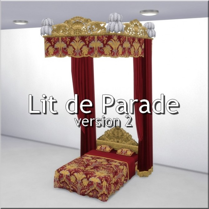 Lit de Parade V2 by TheJim07 at Mod The Sims image 5912 670x670 Sims 4 Updates