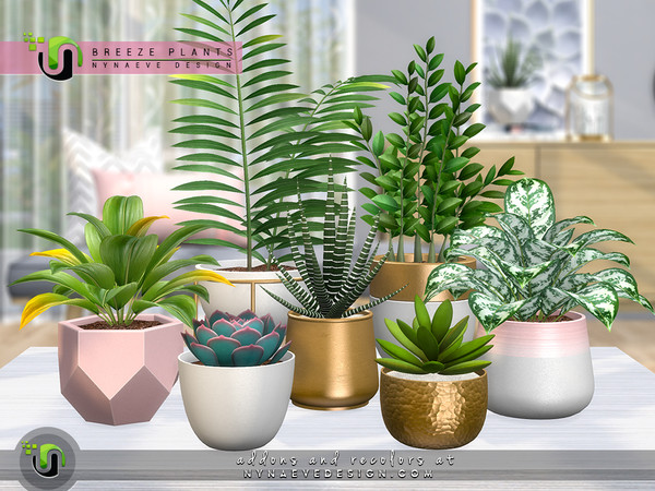 Breeze Plants by NynaeveDesign at TSR image 5916 Sims 4 Updates