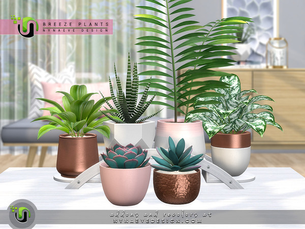 Sims 4 Breeze Plants by NynaeveDesign at TSR