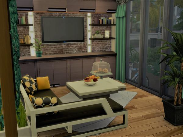 Sims 4 Noteworthy Modern House by Alibrandi at TSR