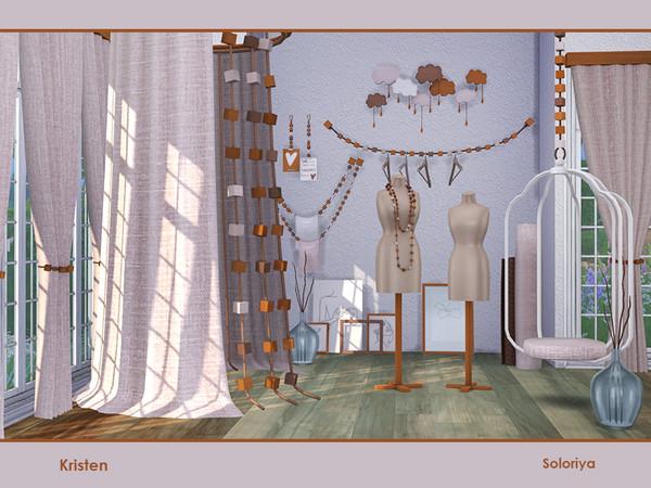 Sims 4 Kristen set part 2 by soloriya at TSR