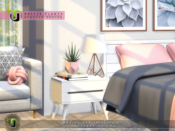 Breeze Plants by NynaeveDesign at TSR image 6120 Sims 4 Updates