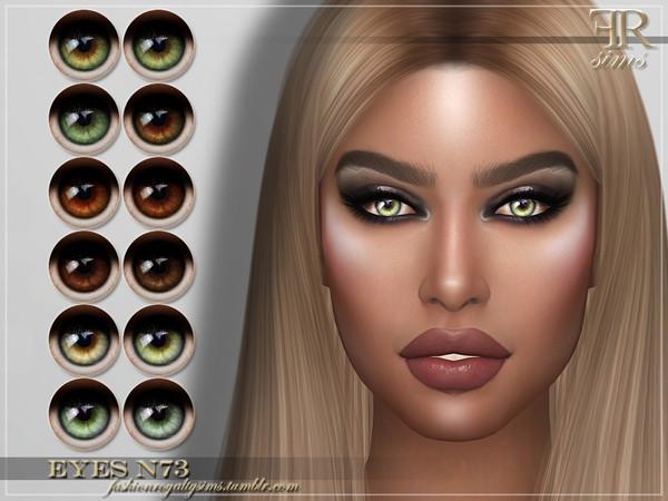 FRS Eyes N73 by FashionRoyaltySims at TSR image 616 Sims 4 Updates