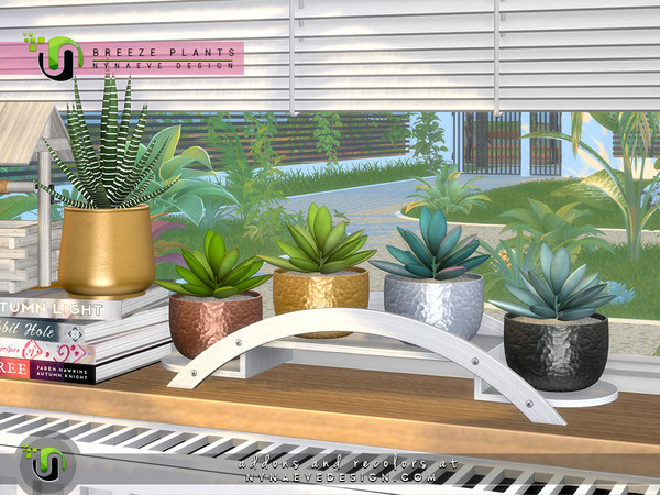 Breeze Plants by NynaeveDesign at TSR image 6217 Sims 4 Updates