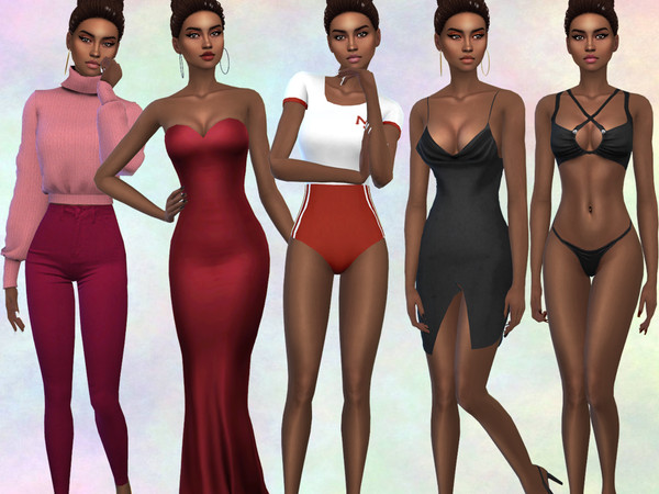 Sims 4 Marcia Cardoso by divaka45 at TSR