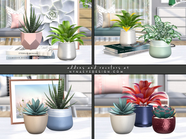 Breeze Plants by NynaeveDesign at TSR image 6316 Sims 4 Updates