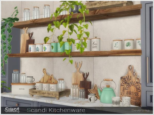 Scandi Kitchenware by Severinka at TSR image 655 Sims 4 Updates
