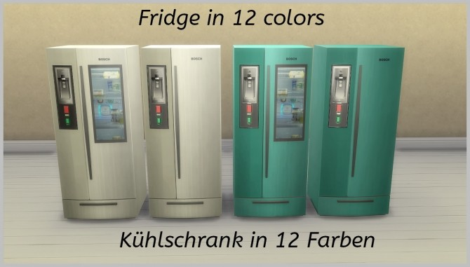 Modern fridge by hippy70 at Mod The Sims image 6819 670x381 Sims 4 Updates