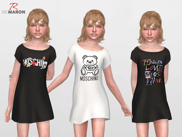 Dress for Kids by remaron at TSR image 6911 Sims 4 Updates