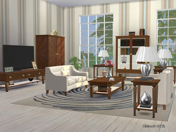Sims 4 Living Flare by ShinoKCR at TSR