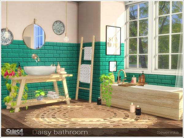 Daisy bathroom by Severinka at TSR image 7018 Sims 4 Updates