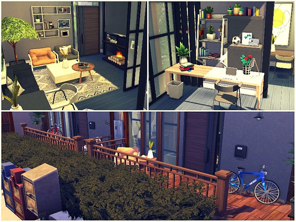 Sims 4 LUX STUDENT STUDIO by lotsbymanal at TSR