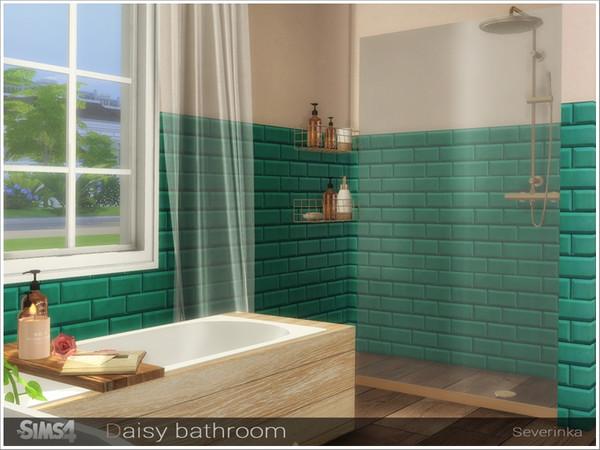 Daisy bathroom by Severinka at TSR image 7122 Sims 4 Updates