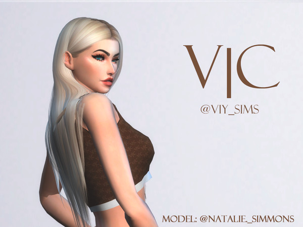 TOP JII by Viy Sims at TSR image 729 Sims 4 Updates