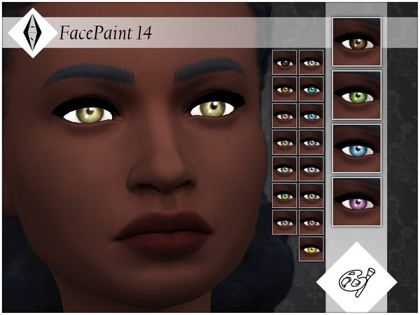 Face Paint 14 by AleNikSimmer at TSR image 766 Sims 4 Updates