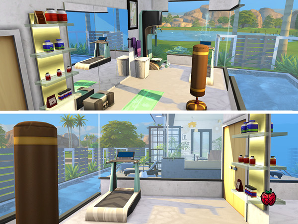 Sims 4 Tally house by melapples at TSR