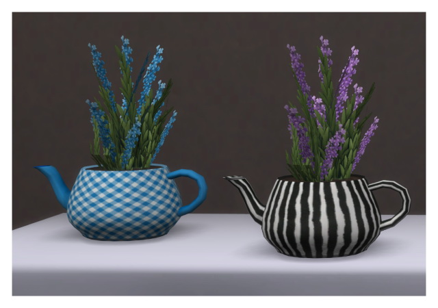 Teapot plant recolors by Chalipo at All 4 Sims image 7912 Sims 4 Updates