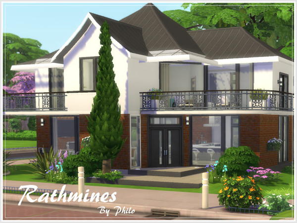 Rathmines house by philo at TSR image 7913 Sims 4 Updates
