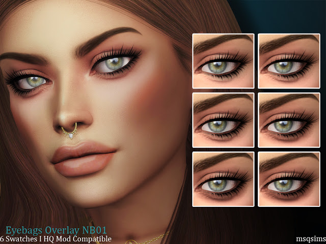 Eyebags Overlay NB01 at MSQ Sims image 796 Sims 4 Updates