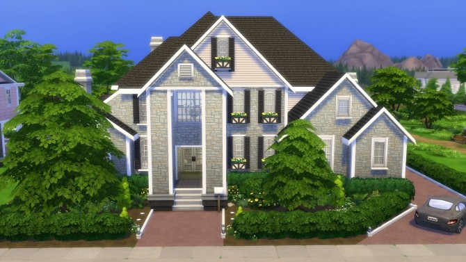 Hunt McMansion 2020 by CarlDillynson at Mod The Sims image 799 670x377 Sims 4 Updates