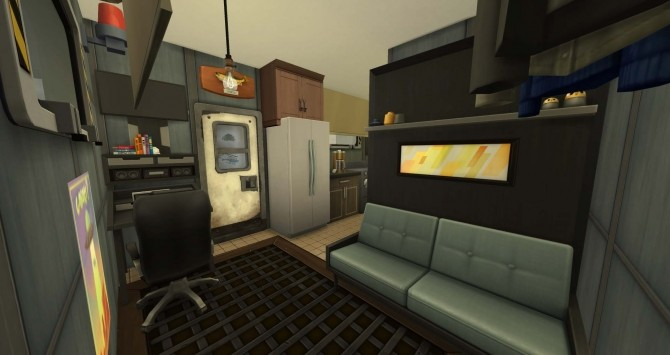 Sims 4 Lenny Drae Trailer from Volkonir v.3 by BulldozerIvan at Mod The Sims