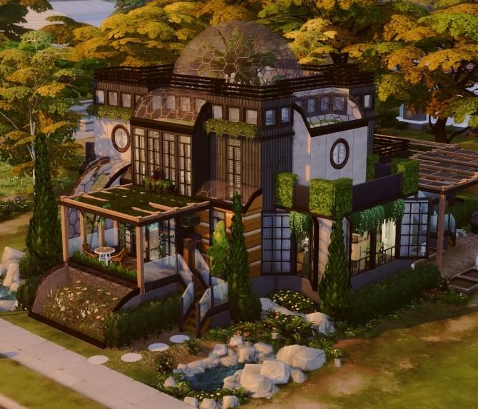 Eco paradise build at a winged llama image 806 670x573 Sims 4 Updates