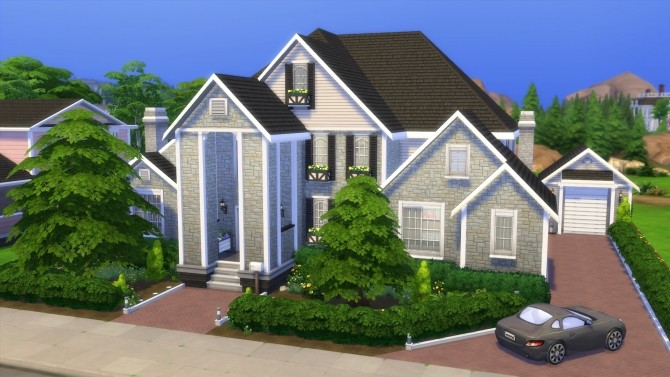 Hunt McMansion 2020 by CarlDillynson at Mod The Sims image 809 670x377 Sims 4 Updates