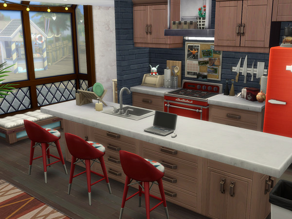 Sims 4 Dockside Living by Suanin at TSR