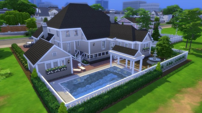 Hunt McMansion 2020 by CarlDillynson at Mod The Sims image 8113 670x377 Sims 4 Updates