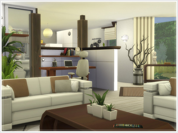 Sims 4 Anouck house by philo at TSR
