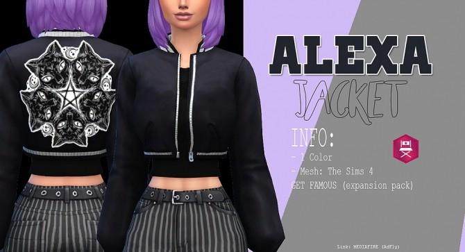 Sims 4 Alexa jacket at Kass