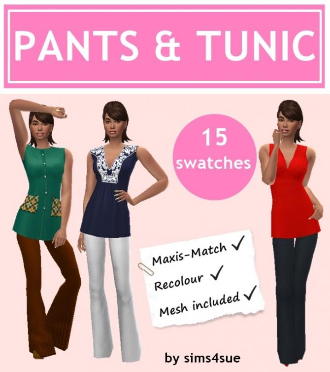 PANTS & TUNIC at Sims4Sue image 824 670x754 Sims 4 Updates
