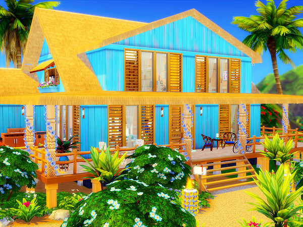 Sims 4 The Summer Home by sharon337 at TSR