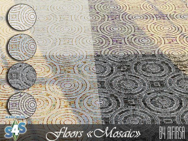 Mosaic floors at Aifirsa image 83 Sims 4 Updates