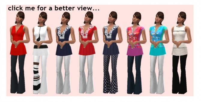 PANTS & TUNIC at Sims4Sue image 832 670x339 Sims 4 Updates