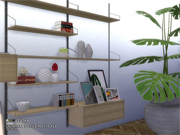 Quintara Office Materials by ArtVitalex at TSR image 84 Sims 4 Updates