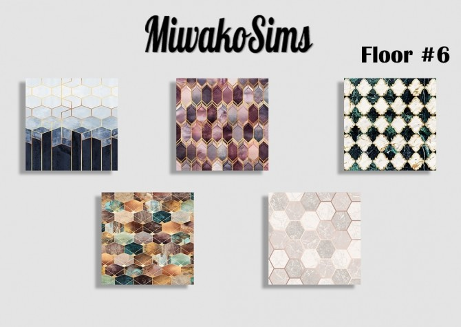 Sims 4 Collection floor #6 at MiwakoSims