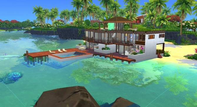 Rivage de Saphir house by valbreizh at Mod The Sims image 8612 670x365 Sims 4 Updates