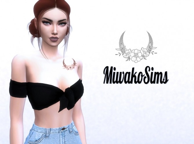 Sims 4 Collection #7 tattoo at MiwakoSims