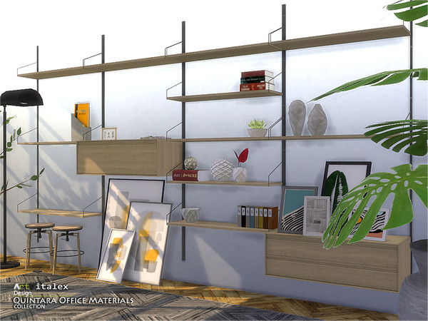 Quintara Office Materials by ArtVitalex at TSR image 87 Sims 4 Updates