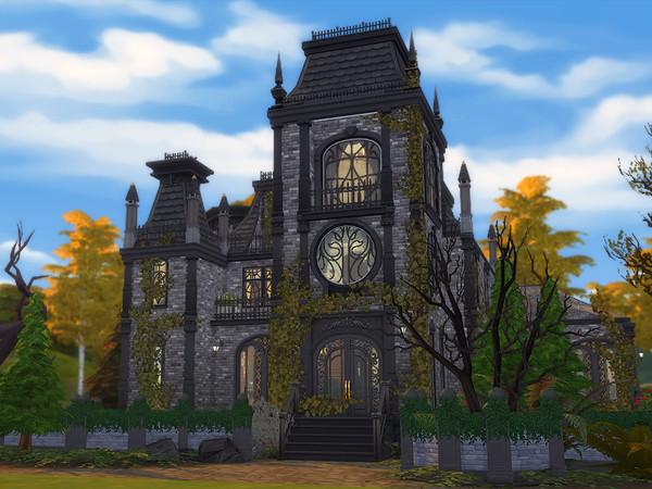 Sims 4 Cruellas Manor by Ineliz at TSR