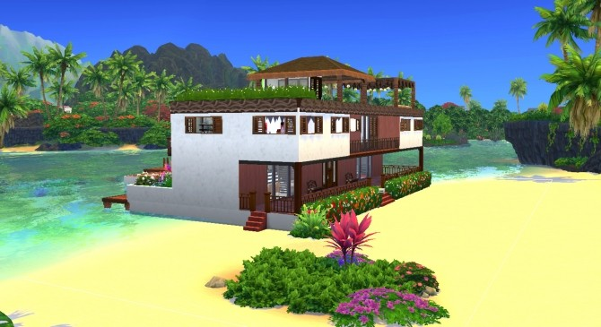 Rivage de Saphir house by valbreizh at Mod The Sims image 8713 670x365 Sims 4 Updates