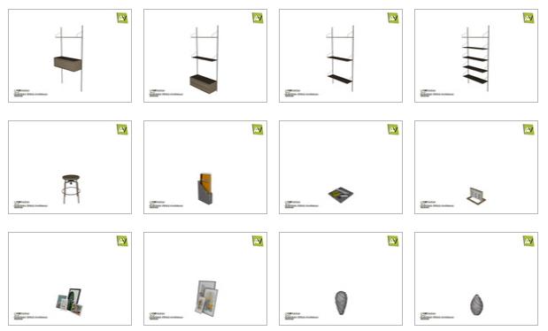 Quintara Office Materials by ArtVitalex at TSR image 88 Sims 4 Updates