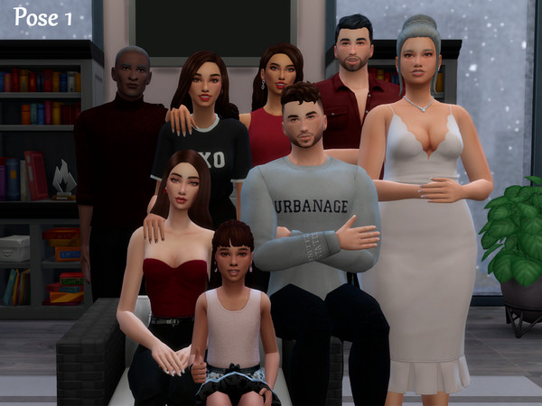Family Pose Pack by Beto ae0 at TSR image 880 Sims 4 Updates