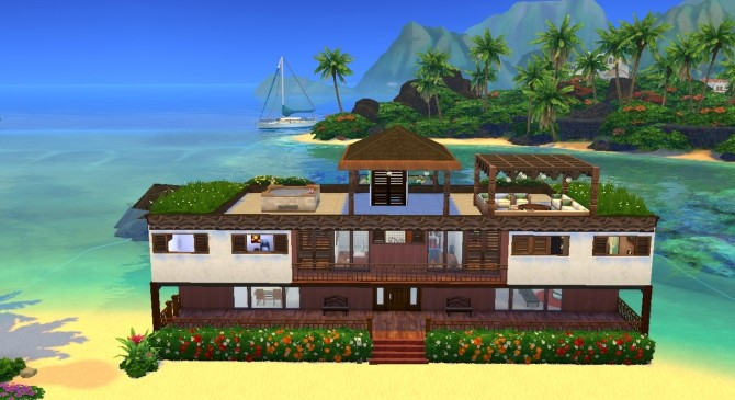 Rivage de Saphir house by valbreizh at Mod The Sims image 8813 670x365 Sims 4 Updates