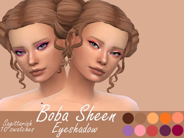 Sims 4 Boba Sheen Eyeshadow by Sagittariah at TSR