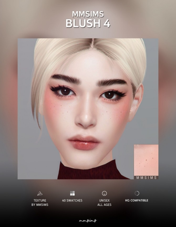 Sims 4 Blush 4 at MMSIMS