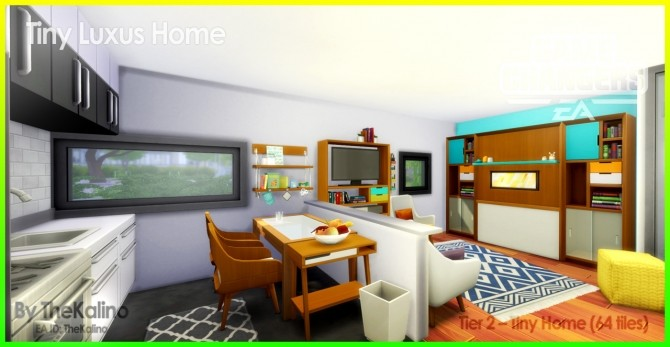 Tiny Luxus Home at Kalino image 9116 670x347 Sims 4 Updates