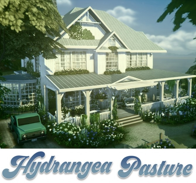 Hydrangea Pasture home at a winged llama image 926 670x623 Sims 4 Updates