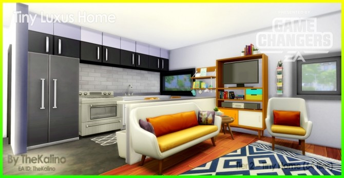 Sims 4 Tiny Luxus Home at Kalino